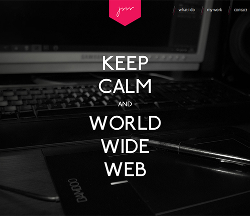 Keep calm and WWW
