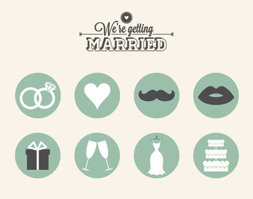Free Wedding Icons (12 Icons)