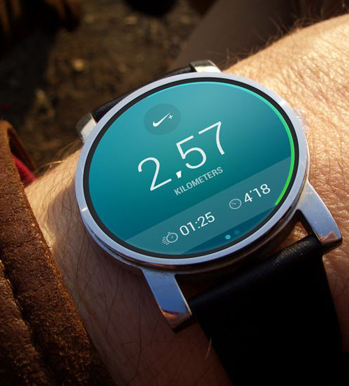 Android Wear Nike Running