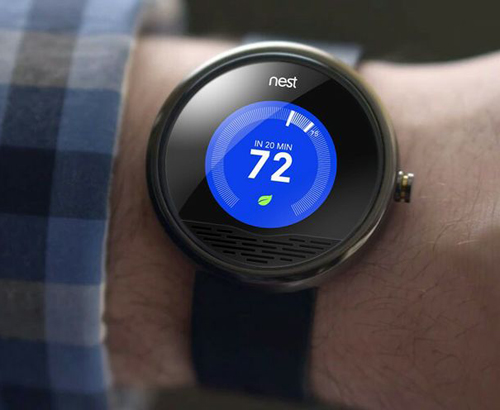 Android Wear Nest App