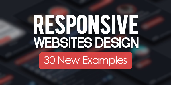 Responsive Design Websites 30 New Examples