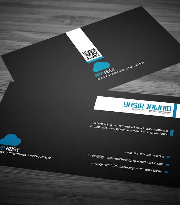 Free Corporate Business Card View 2