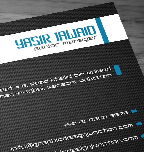 Free Corporate Business Card View 7