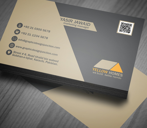 Real Estate Business Card Template - 1