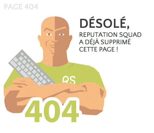 404 Page Designs – 32 Fresh Error Pages Examples - 12