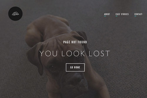 404 Page Designs – 32 Fresh Error Pages Examples - 21