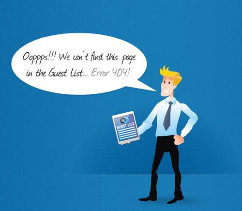 404 Page Designs – 32 Fresh Error Pages Examples - 5