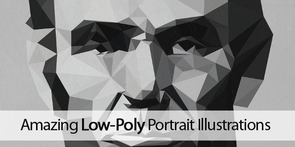 25 Amazing Low-Poly Portrait Illustrations for Inspiration