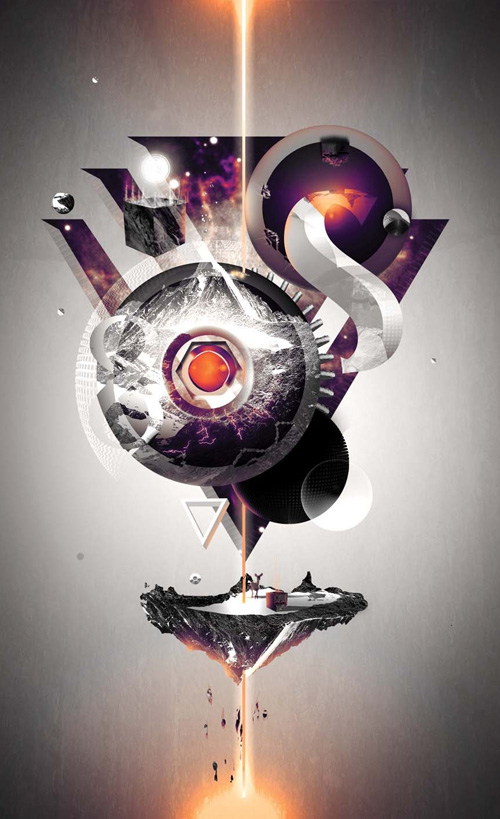 Create an Amazing Abstract Artwork in Adobe Illustrator Tutorial