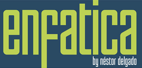 Enfatica Typeface free font for designers