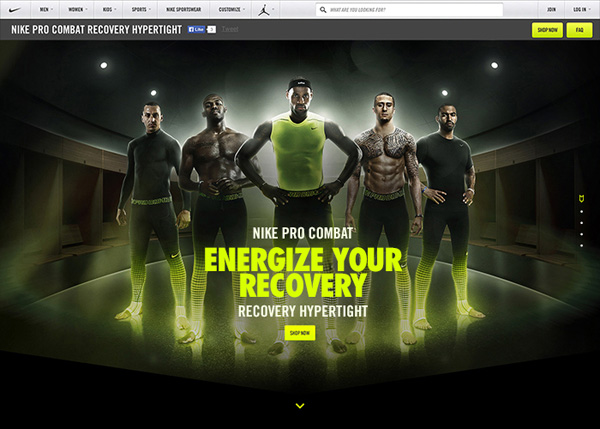 Nike — Energize Your Recovery