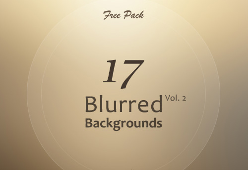 Free Blurred Backgrounds (17 Items)
