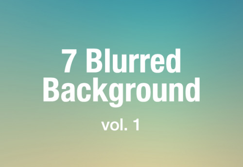Free Blur Backgrounds For Wallpaper (7 Items)