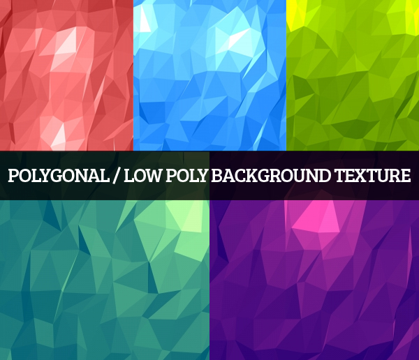 Polygonal / Low Poly Background Texture