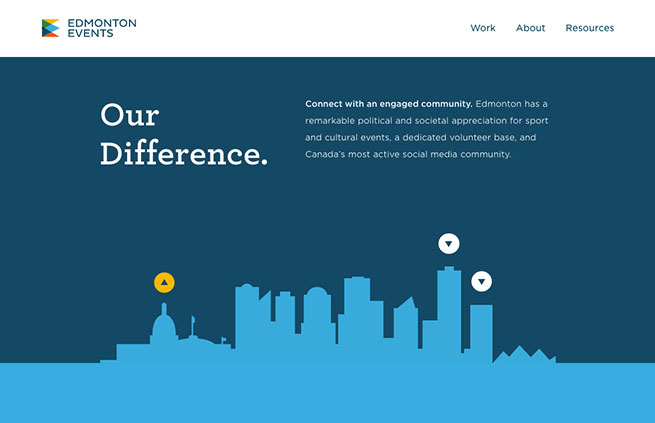 Flat Website Design Examples For Inspiration - 10