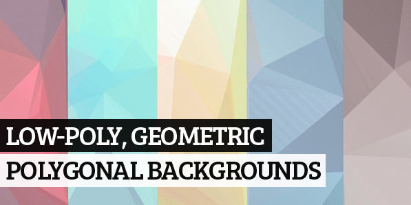 150+ Free High-Res Low-Poly, Geometric and Polygonal Backgrounds