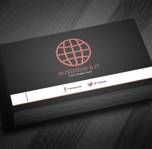 Corporate Business Card Template PSD -  4