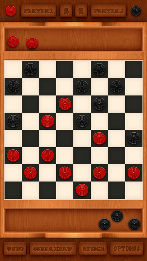 Create a Mobile Checkers Game Interface in Photoshop