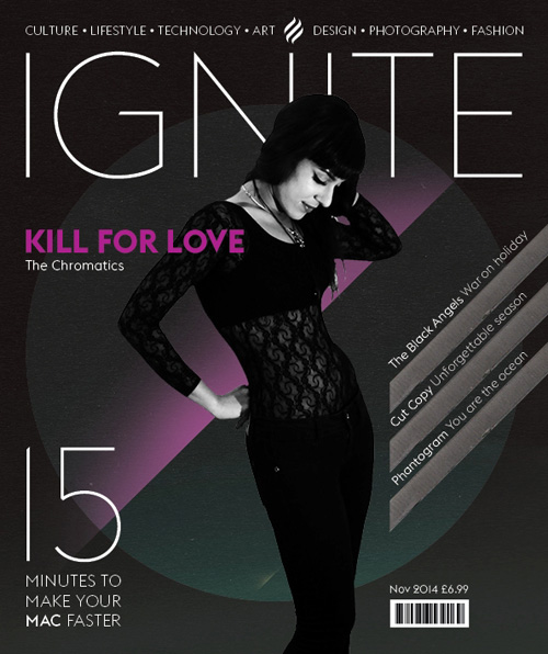 How to design a magazine cover with Pantone colours and spot varnishes InDesign Tutorial