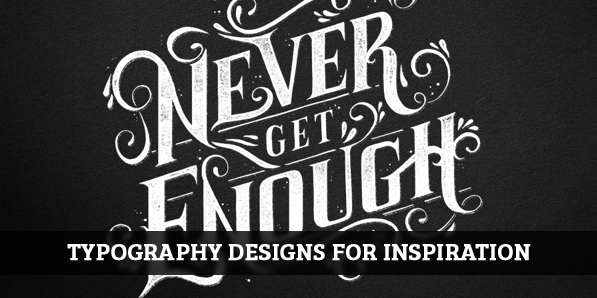 34 Remarkable examples of Typography Design