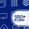 Post thumbnail of 550+ Free Vector Line Icons for Designers