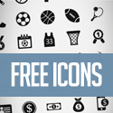 Post Thumbnail of 200+ Free Flat Vector Icons Pack