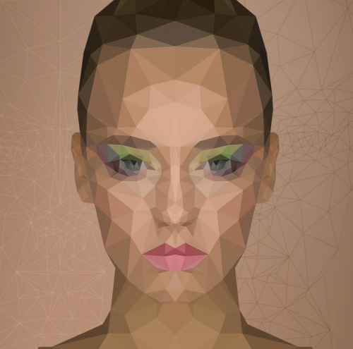 How to Create Low Poly Portrait Effect in Photoshop