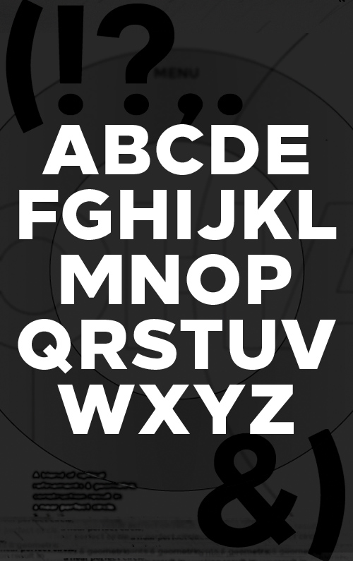 Loew free fonts letters for designers