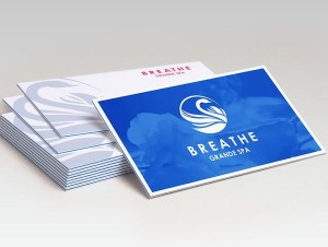 Tri-luxe business cards
