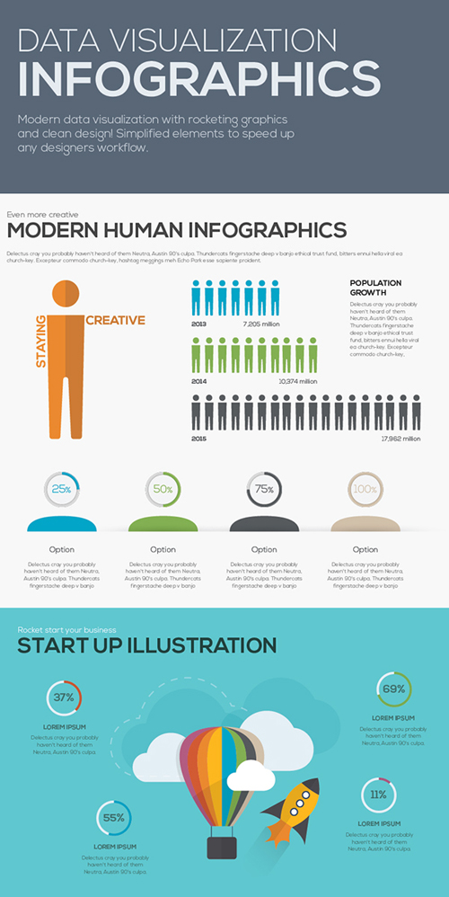 Free Infographics Vector Elements and Infographics Vector Graphics - 10