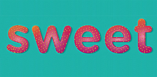 Sweet Strawberry Text Effect! Perfect Summer Font