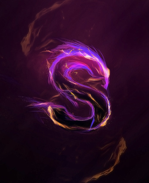 Design Magical Fire Energy Text Effect in Photoshop Tutorial
