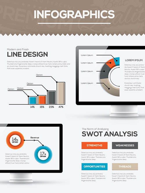 Free Infographics Vector Elements and Infographics Vector Graphics - 6