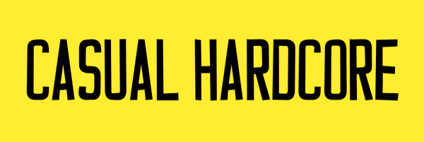 Casual Hardcore Font Free Download
