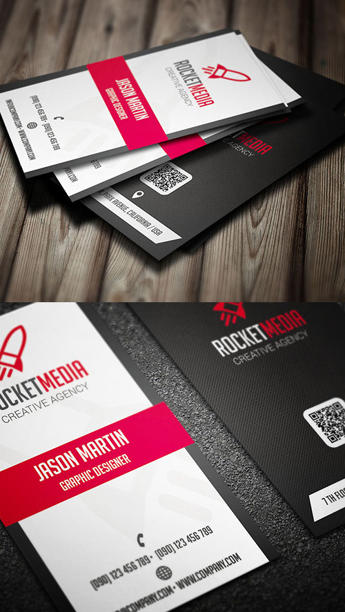 Designers Business Card PSD Templates - 12