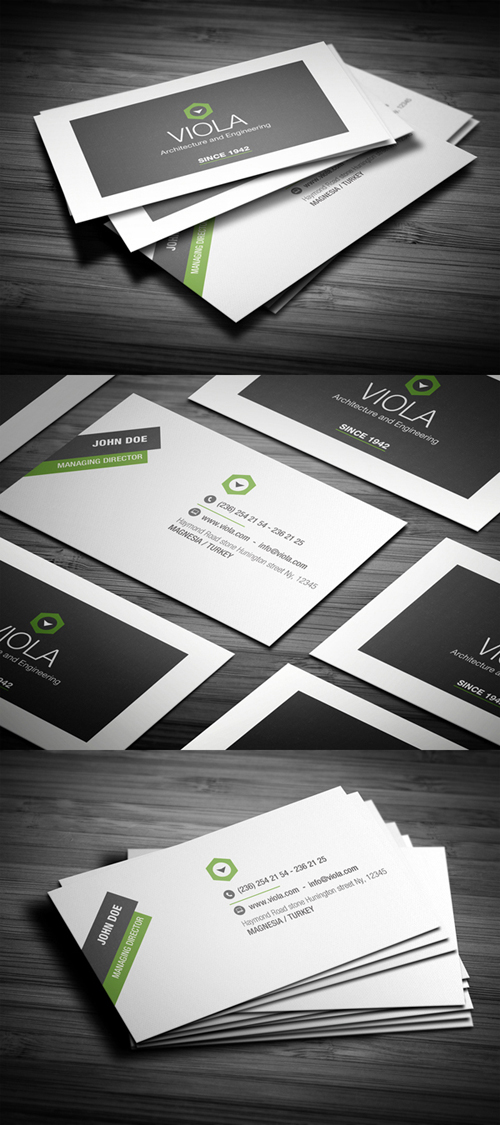 Designers Business Card PSD Templates - 22