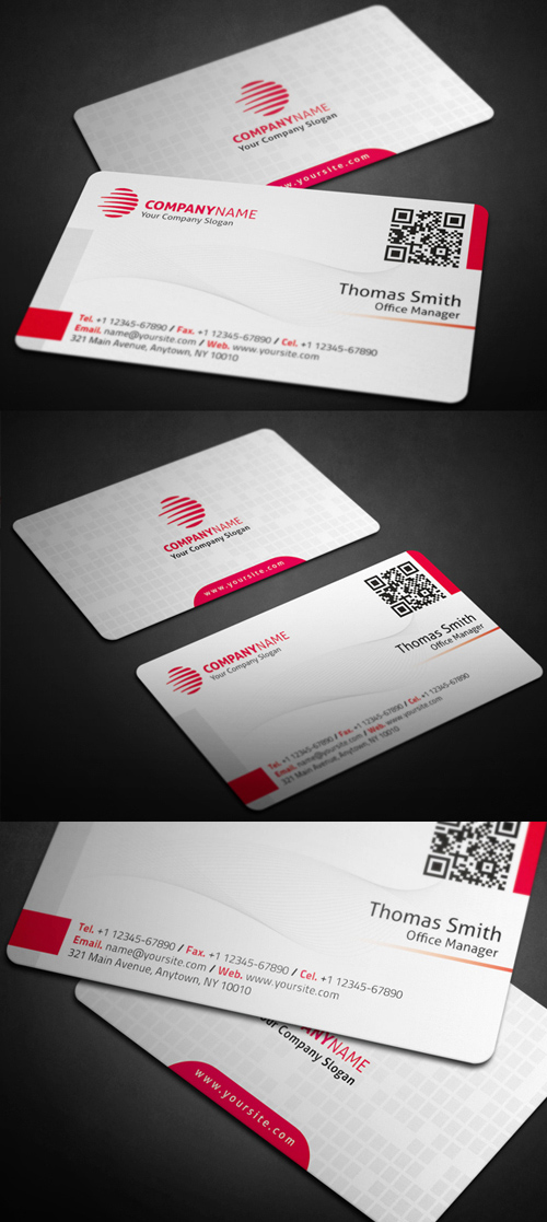 Designers Business Card PSD Templates - 25