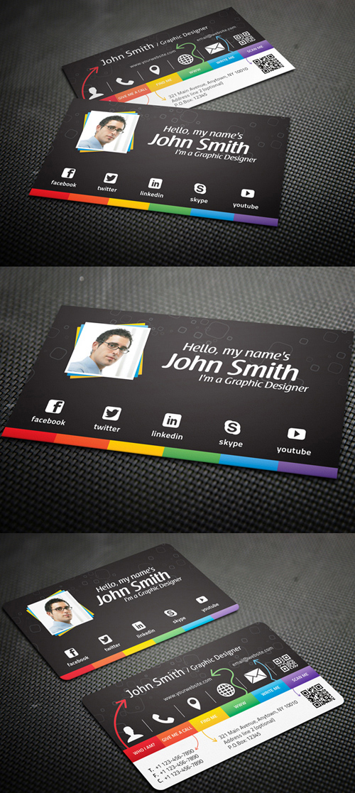 Designers Business Card PSD Templates - 26