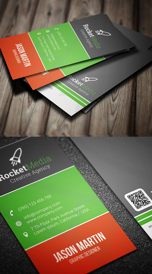 Designers Business Card PSD Templates - 7