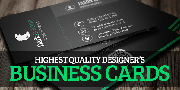 26 Designers Business Card PSD Templates