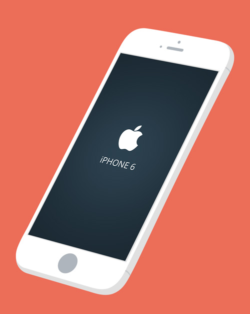 Free iPhone 6 and iPhone 6 Plus Mockup Templates (PSD, AI & Sketch) - Free Download - 29