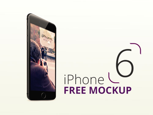 Free iPhone 6 and iPhone 6 Plus Mockup Templates (PSD, AI & Sketch) - Free Download - 32