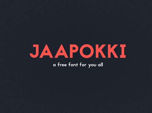 50 Free Fonts - Best of 2014 - 18
