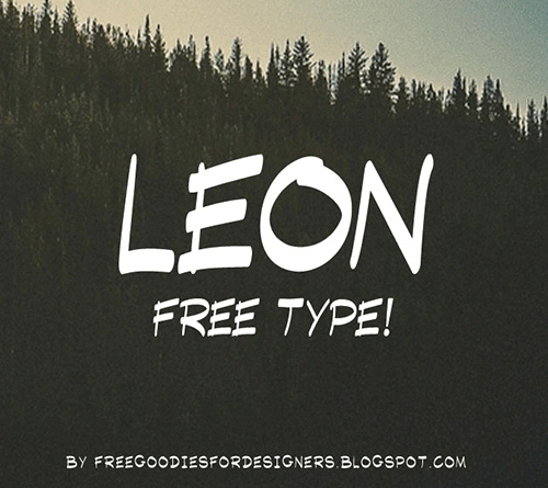 Leon Font Free Download
