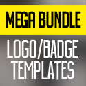 Post thumbnail of 5in1 Mega Bundle v.1: Logo/Badge Templates