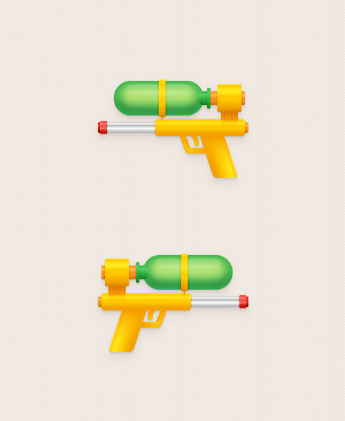 How to Create a Water Pistol Illustration in Adobe Illustrator
