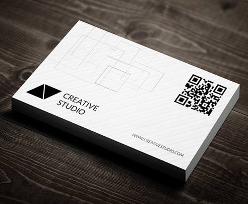 Clean & Corporate Business Cards