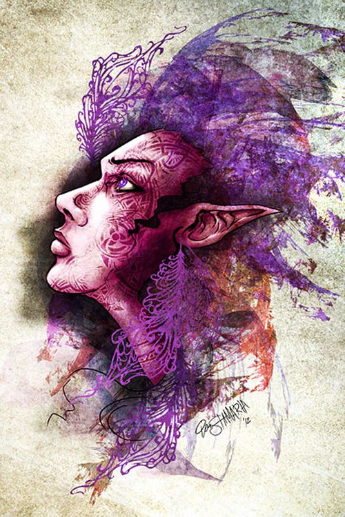 Digital Illustration Art Examples - 4
