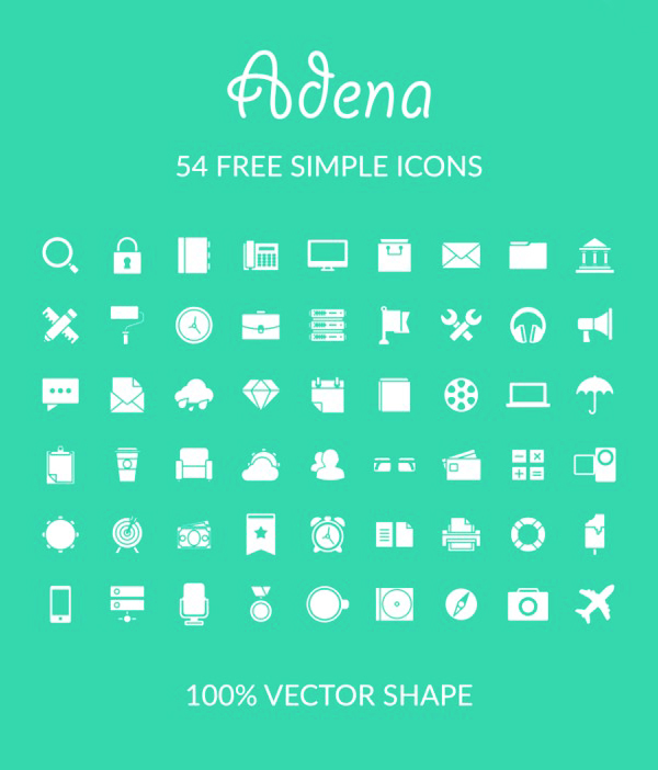 Free Simple Icons