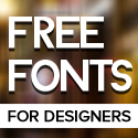 Post Thumbnail of 22 New Free Fonts for Designers